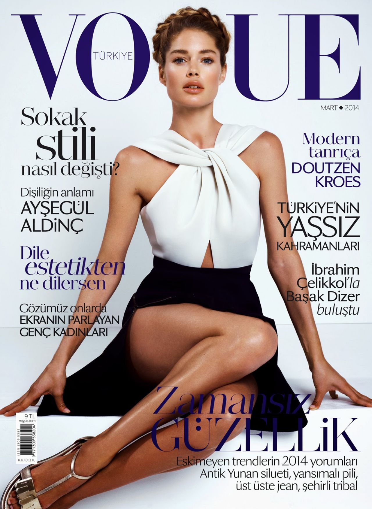 Doutzen Kroes - Vogue Magazine (Turkey) - March 2014 Issue