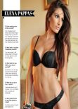 Elena Pappas – Mancave Playbabes Magazine – March/April 2014 Issue