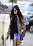Eliza Doolittle Street Style - Out in London - February 2014