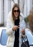 Elizabeth Hurley - Real London Street Style: Winter 2014 - February 2014