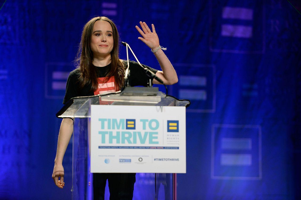 Ellen Page - HRC
