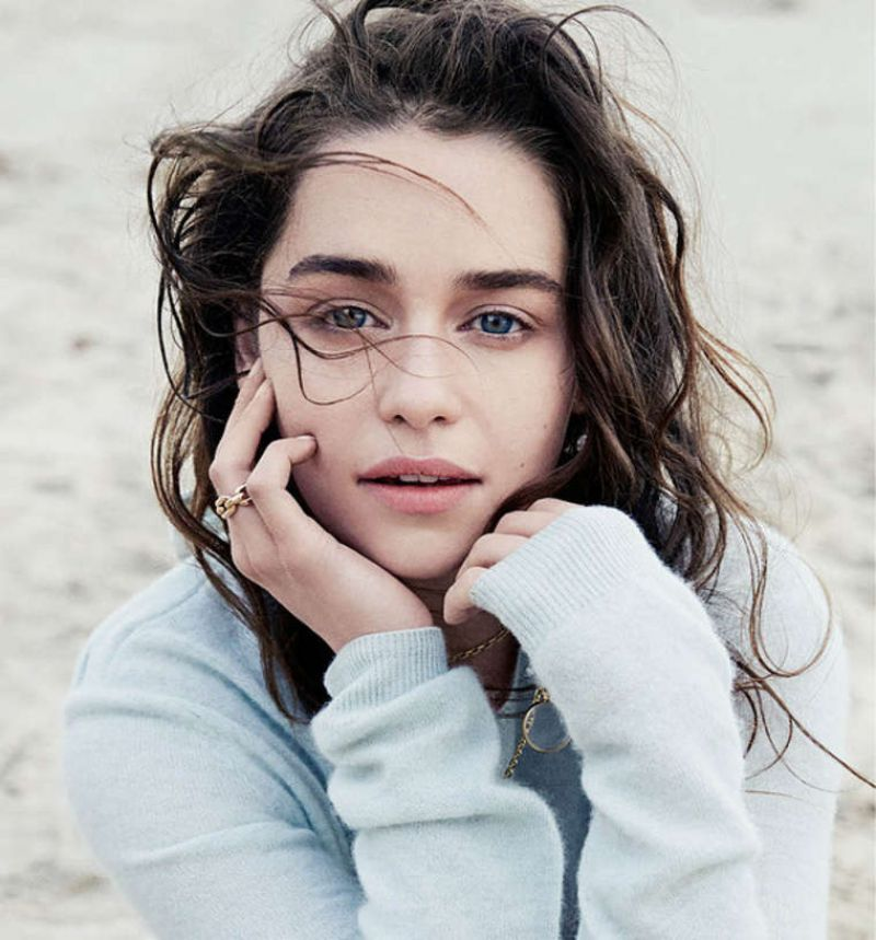 Emilia Clarke - WSJ Magazine - March 2014 Issue