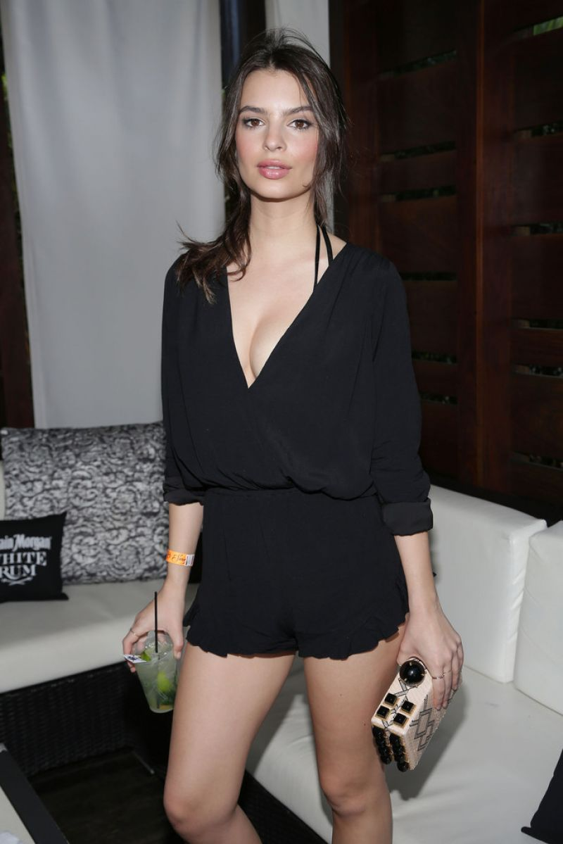 Emily Ratajkowski - Captain Morgan Celebrates SI Swimsuit's 50th Anniversary in Miami (2014)