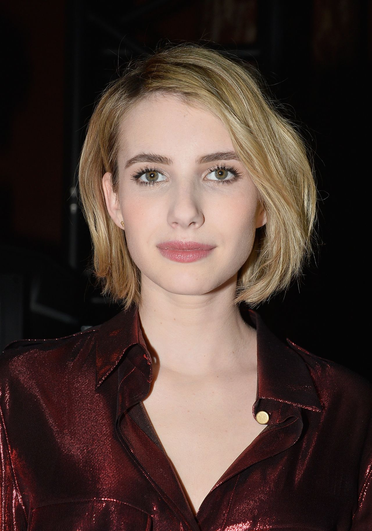 Emma Roberts in Paris - Lanvin show, Paris Fashion Week