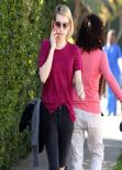 Emma Roberts - Out In Beverly Hills, February 2014