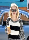 Emma Roberts Street Style - West Hollywood, February 2014