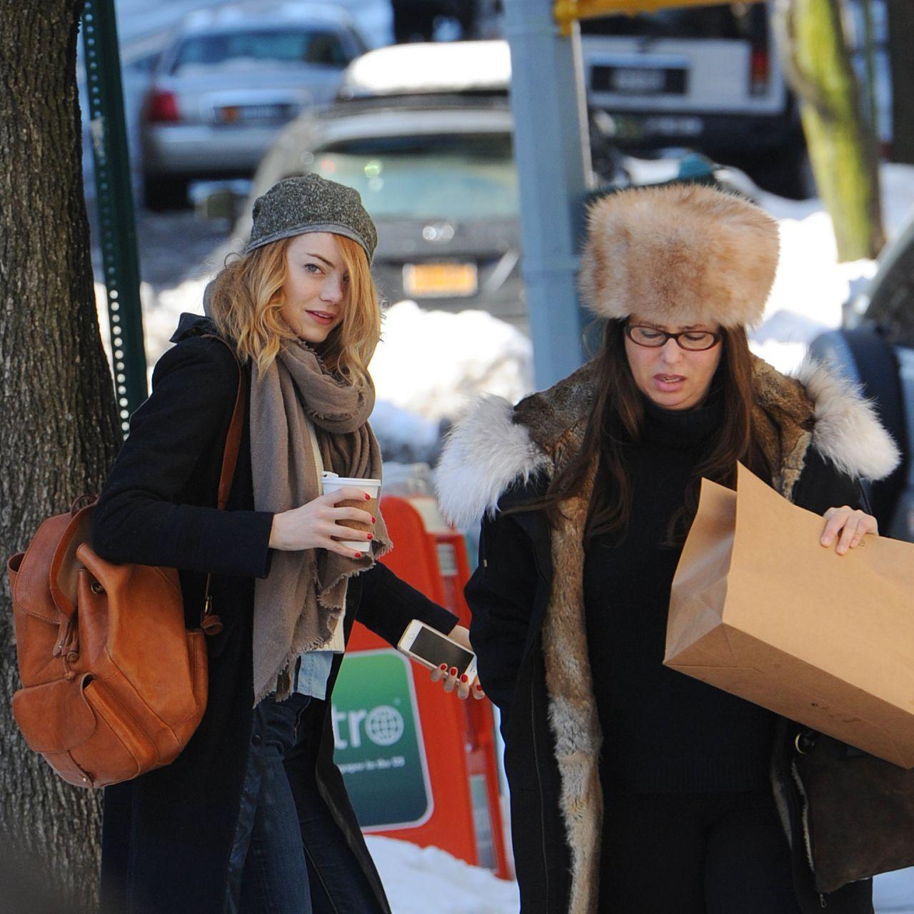 Emma Stone 2014 Street Style