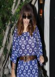 Eva Longoria New Hairstyle - Leaving The Ken Paves Salon in West Hollywood, Feb. 2014
