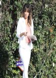 Eva Longoria Street Style - Out in Santa Monica, February 2014