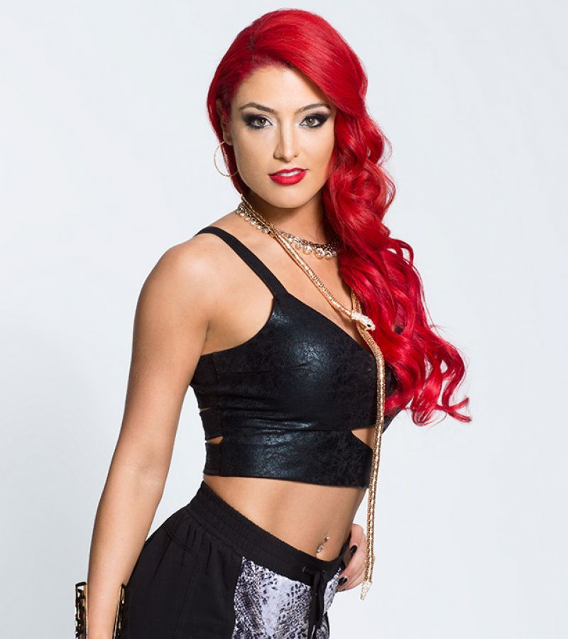 Eva Marie Red Hair Wwe