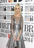 Fearne Cotton - The BRIT Awards 2014 at the 02 Arena in London