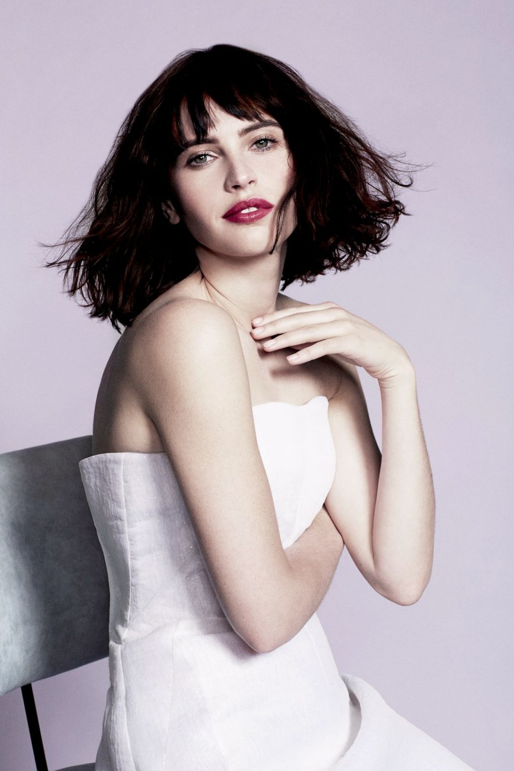 Felicity Jones - Photoshoot for You Magazine - February 2014 Issue