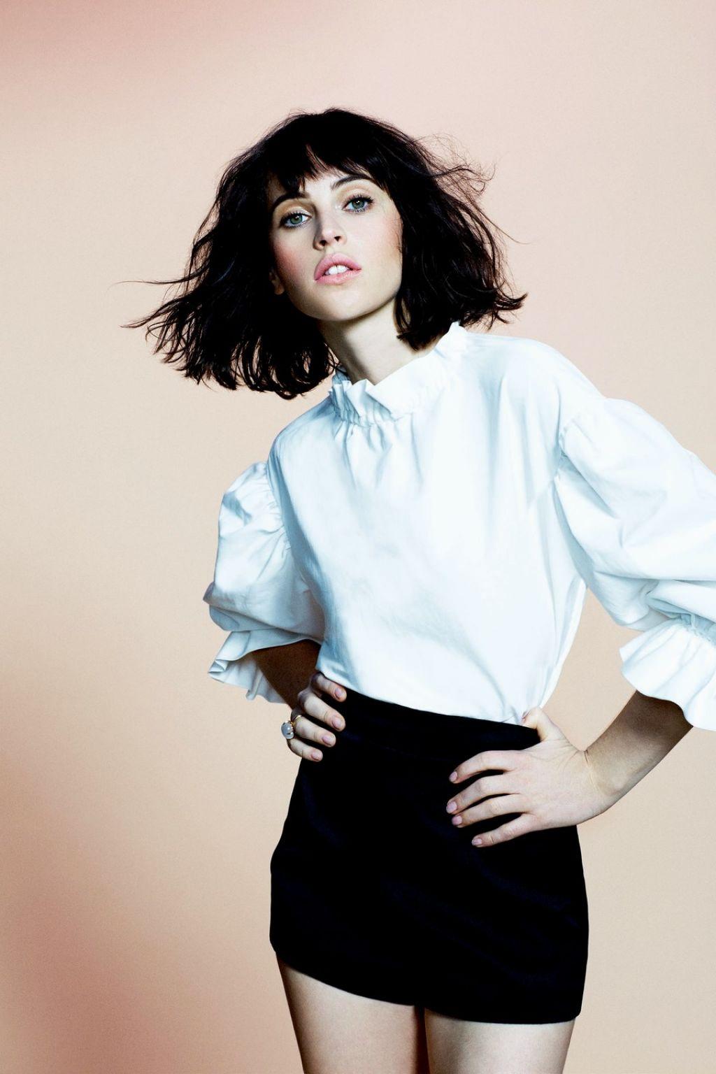 Felicity Jones - Photoshoot for You Magazine - February