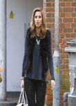 Ferne McCann Street Style - Brentwood Essex, February 2014