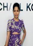 Freida Pinto - Michael Kors Fashion Show in New York City, Feb. 2014