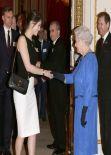 Gemma Arterton - Dramatic Arts Reception at Buckingham Palace in London - February 2014