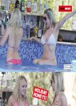 Gemma Merna and Jorgie Porter - NUTS Magazine - February 7, 2014 Issue