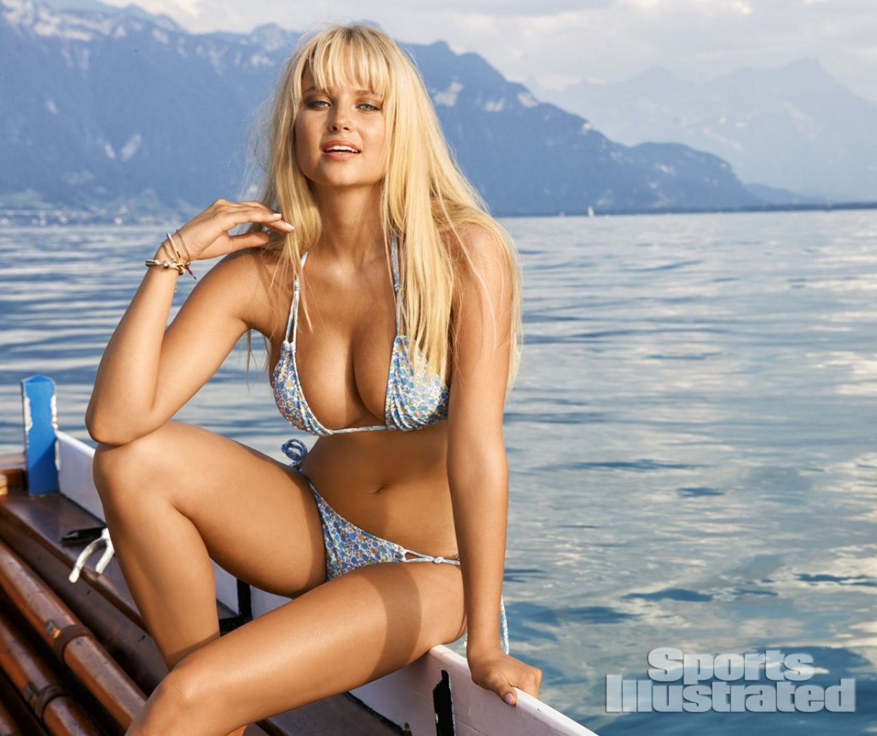 Genevieve Morton Sports Illustrated 2014 Swimsuit Issue