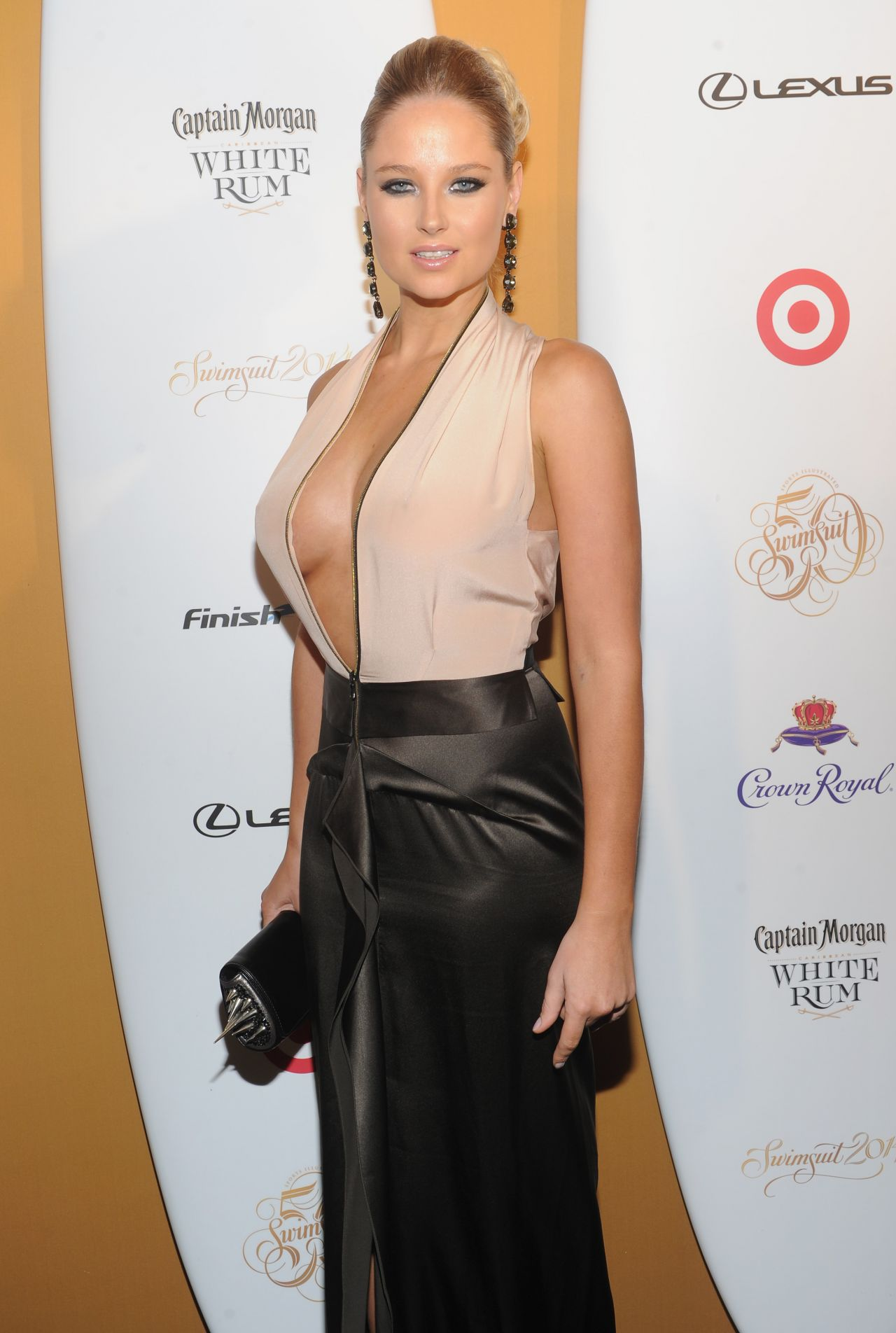 Genevieve Morton - Sports Illustrated Swimsuit Celebrates 50 Years Of Swim In New York City