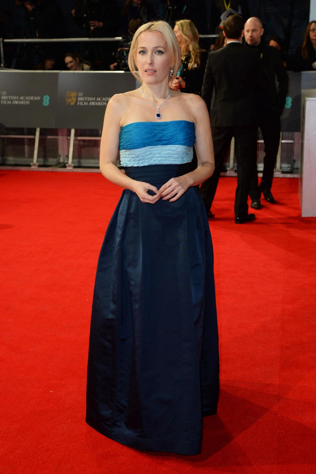 Gillian Anderson - BAFTA 2014 - The Royal Opera House in London