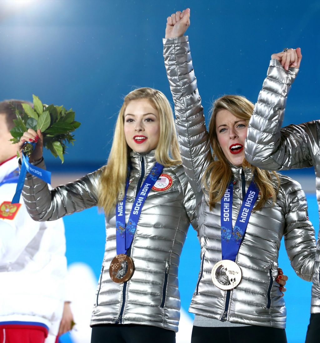 Gracie Gold - Sochi 2014, Team Figure Skating Overall Medal Ceremony