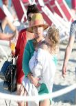 Hayden Panettiere Candids - Bach in Miami, February 2014