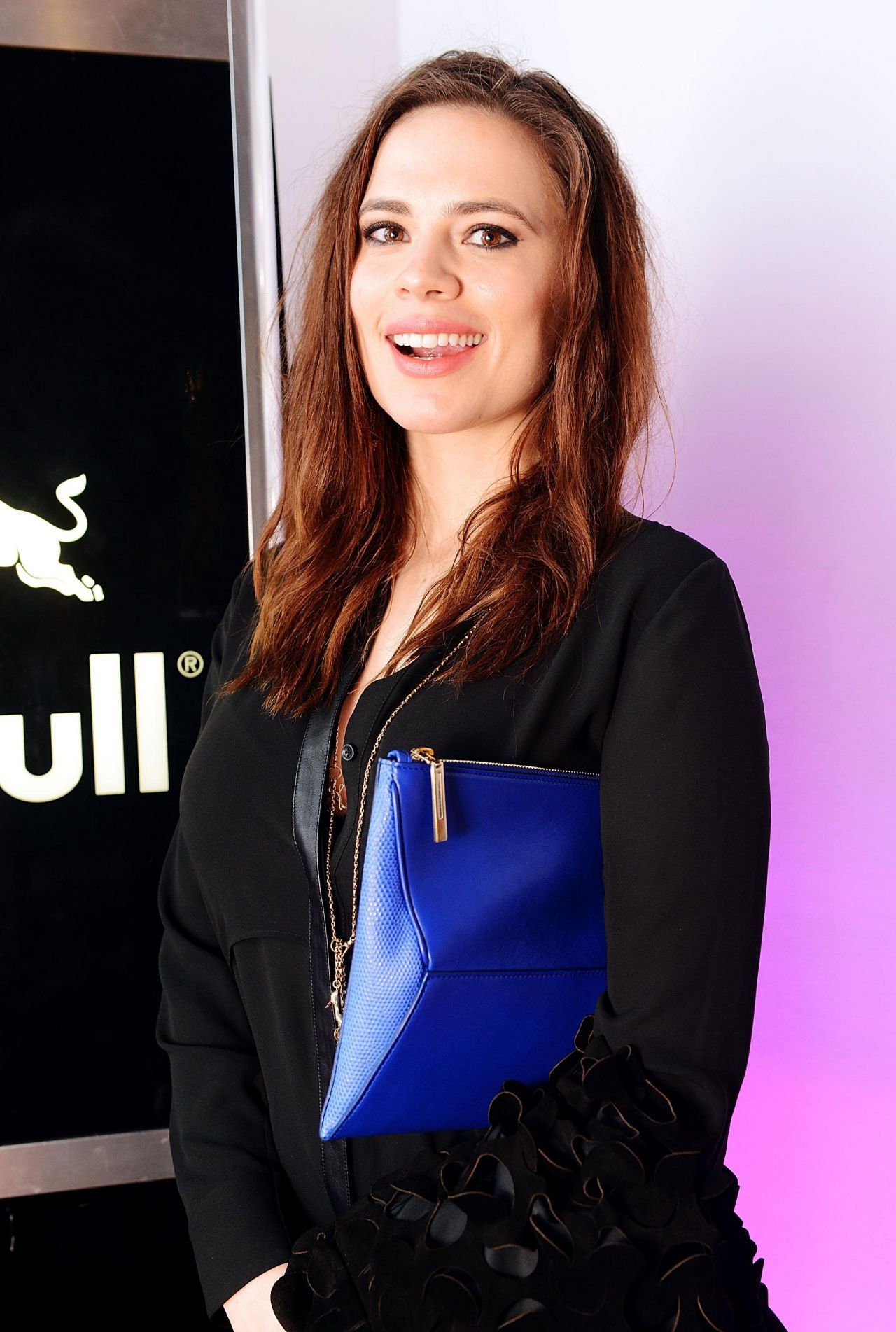 Hayley Atwell - Storm LFW Party - Red Bull Studios in London, February 2014