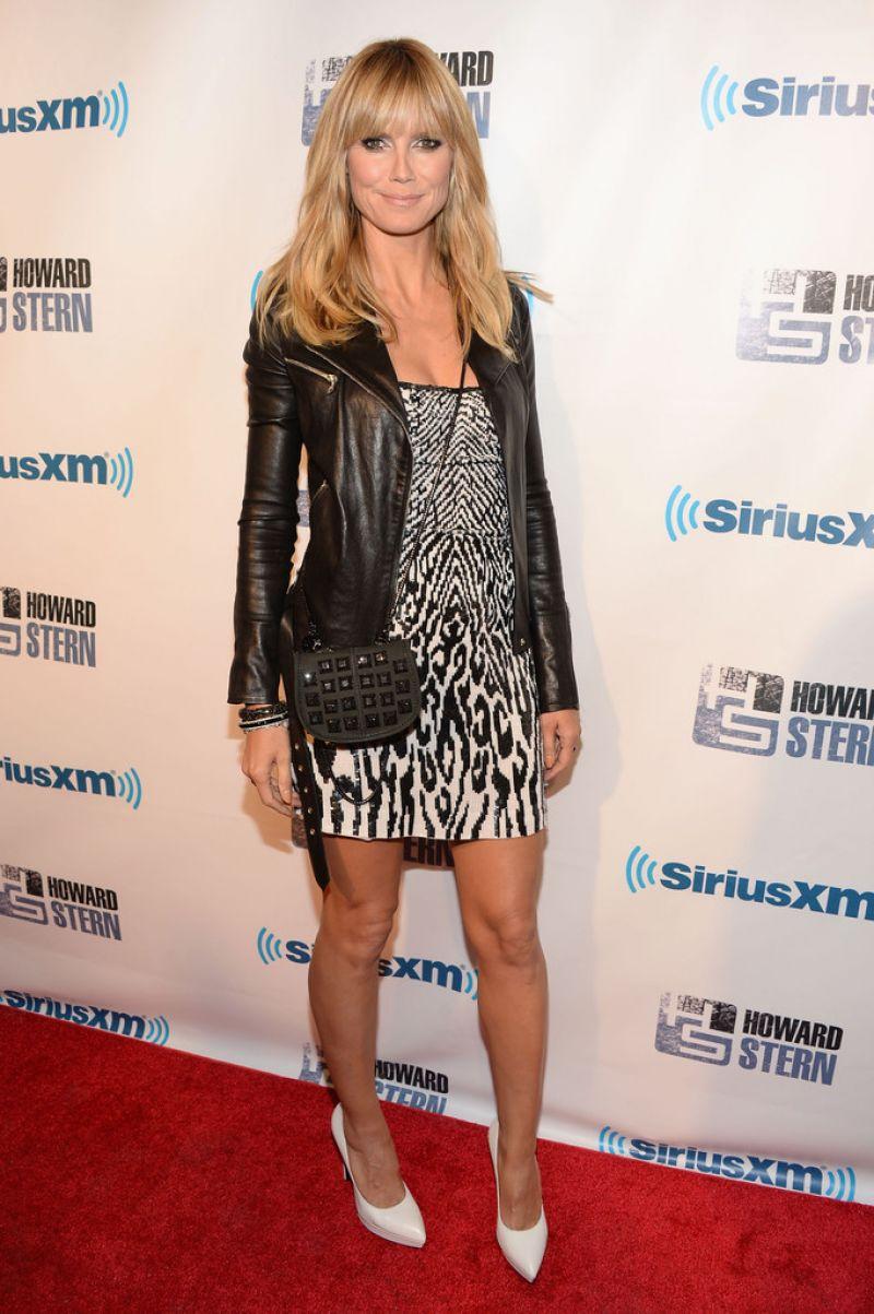 Heidi Klum - Howard Stern