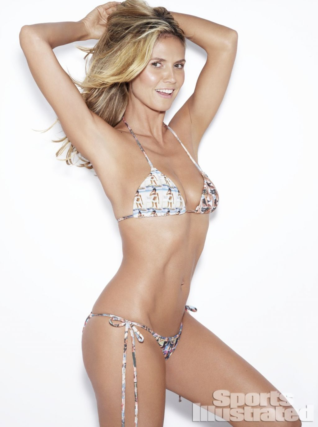 Heidi Klum - Sports Illustrated Swimwear Photoshoot 2014