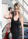 Hilary Duff Gym Style - West Hollywood, January 2014
