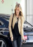 Hilary Duff in Tights - Before Gym Class in West Hollywood, Feb. 2014