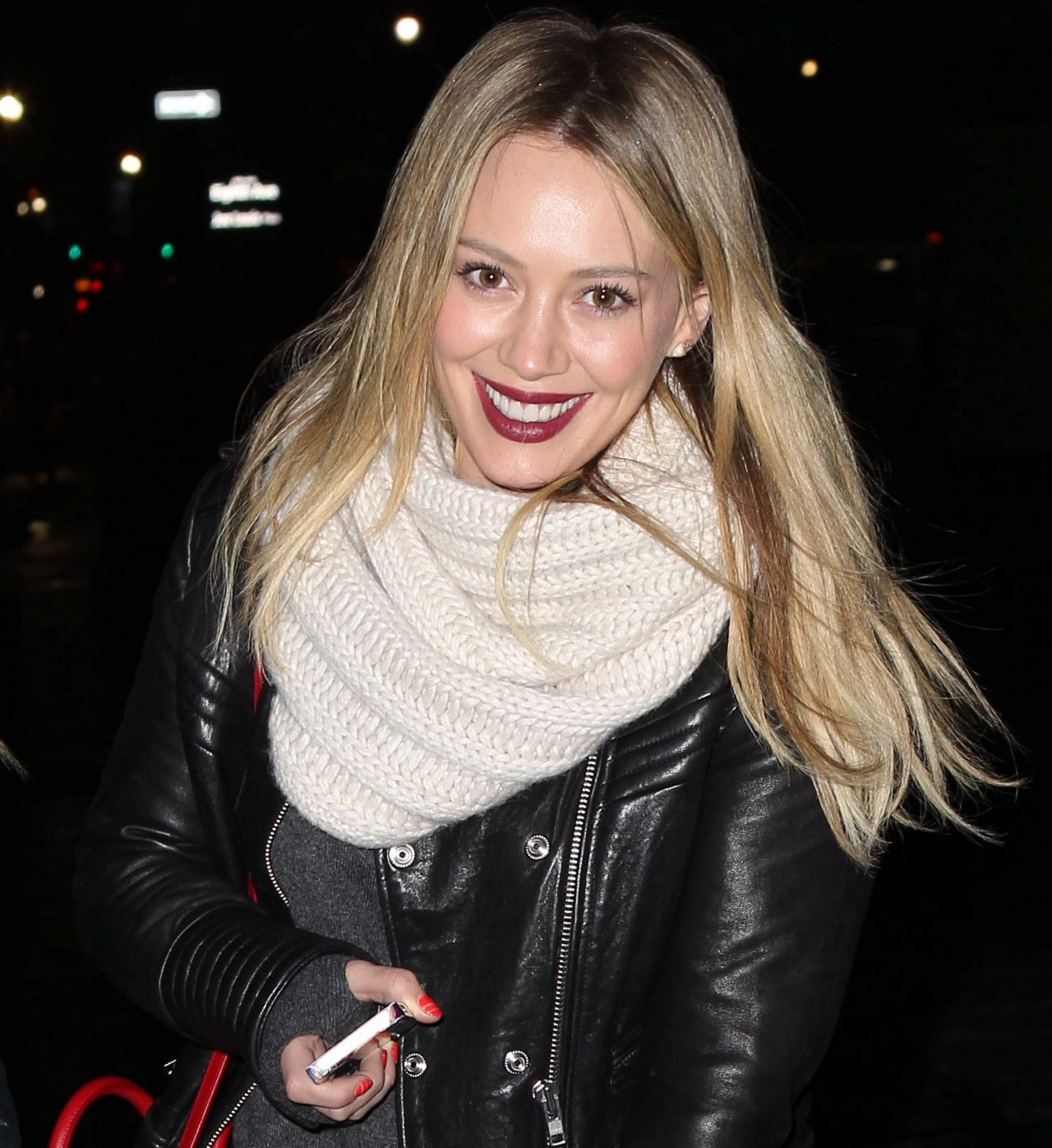 Hilary Duff Night Out Style - February 2014