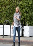 Hilary Duff - Real Los Angeles Street Style: Winter 2014