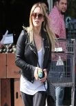 Hilary Duff - Shopping at Bristol Farms - West Hollywood, Los Angeles