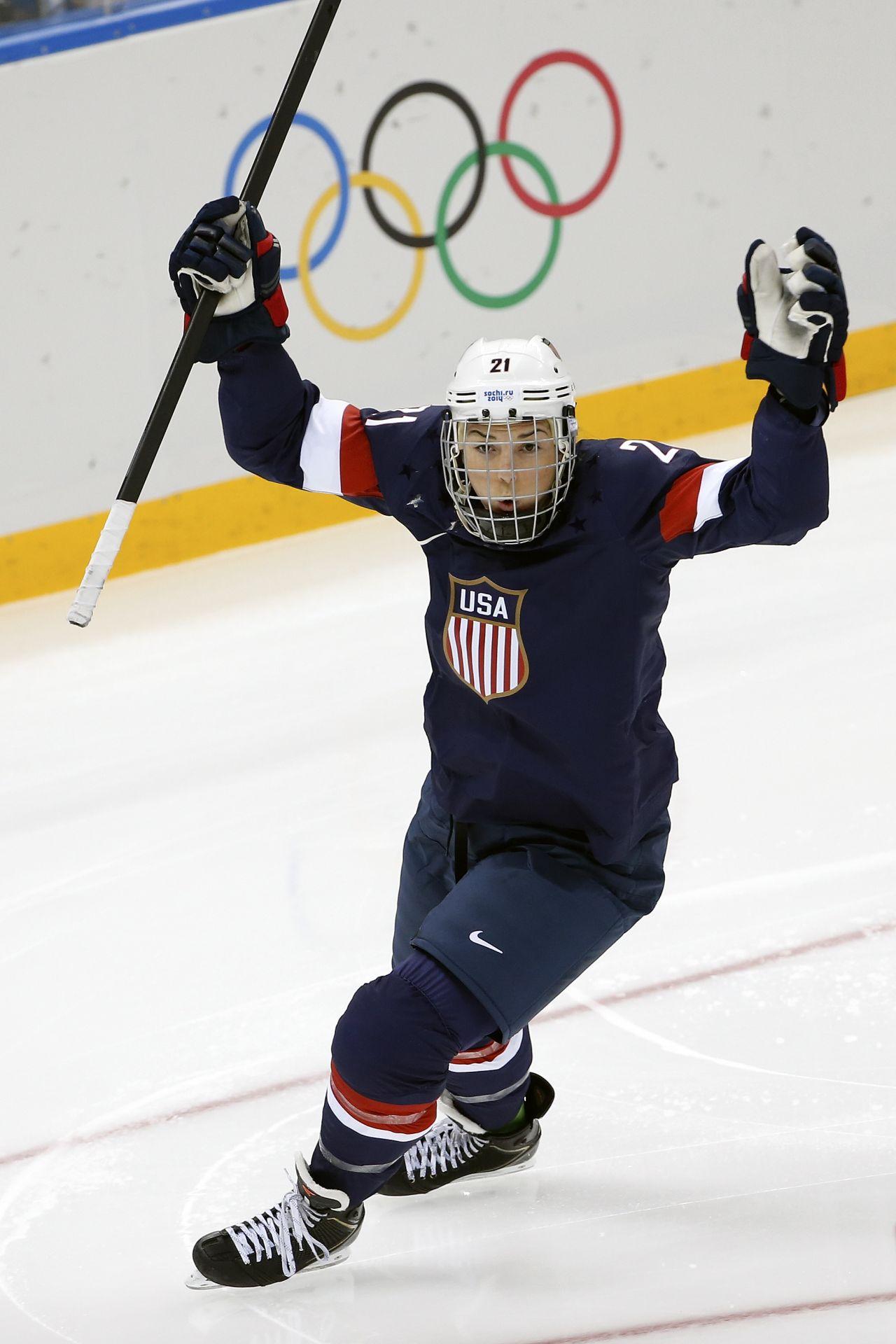 Hilary Knight - 2014 Sochi Winter Olympics, U.S. Hockey Team Hilary Knight