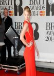 Iggy Azalea Wearing Elie Saab Dress - 2014 BRIT Awards in London