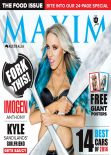 Imogen Anthony – Maxim Magazine (Australia) – March 2014 Issue