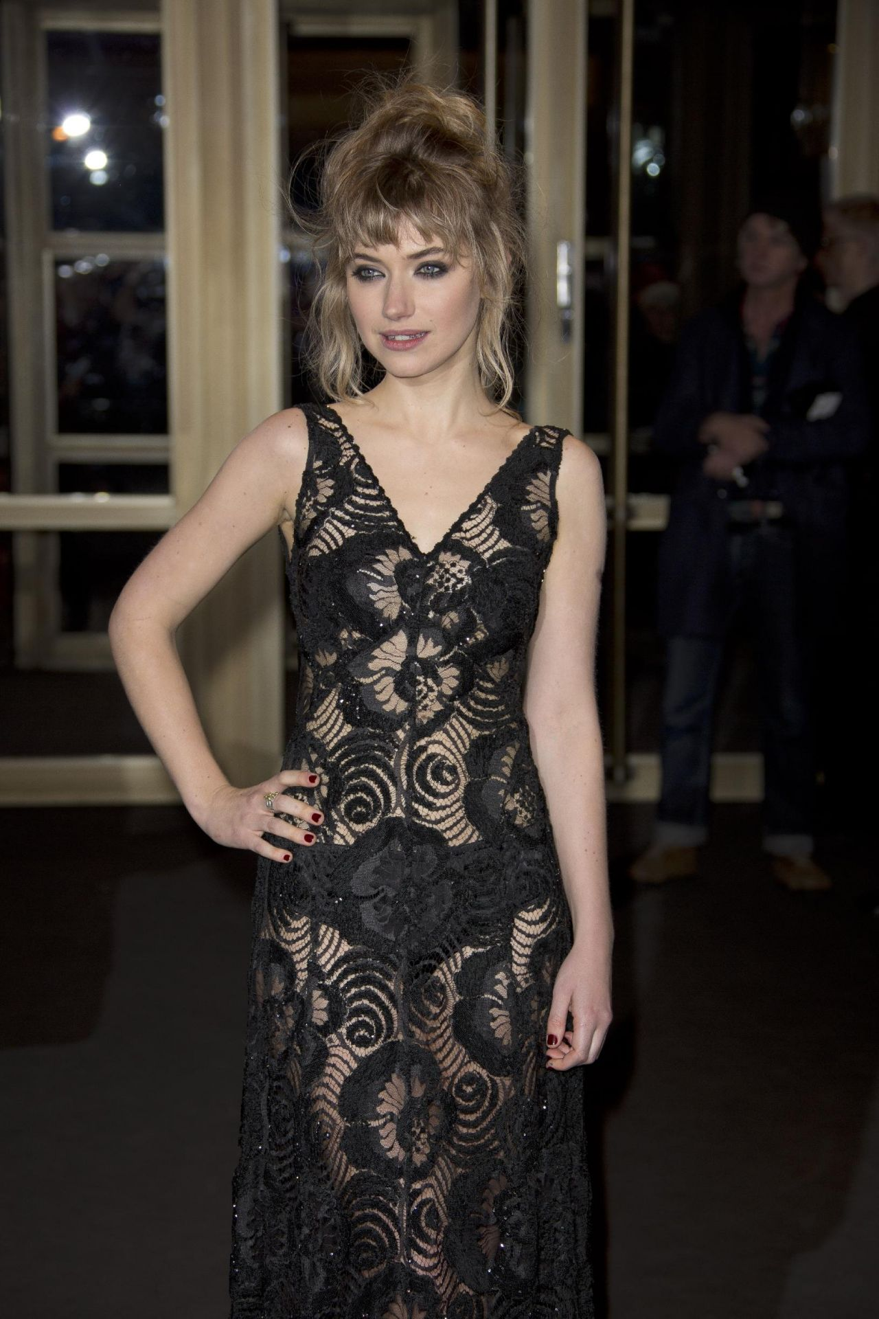 "Imogen Poots - ""A Long Way Down"" Berlinale Screening - February 2014"