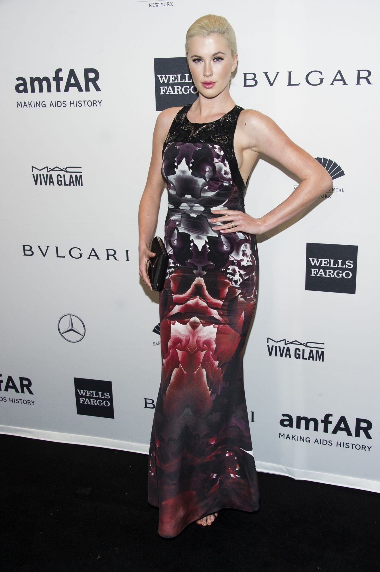 Ireland Baldwin at amfAR New York Gala - February 2014