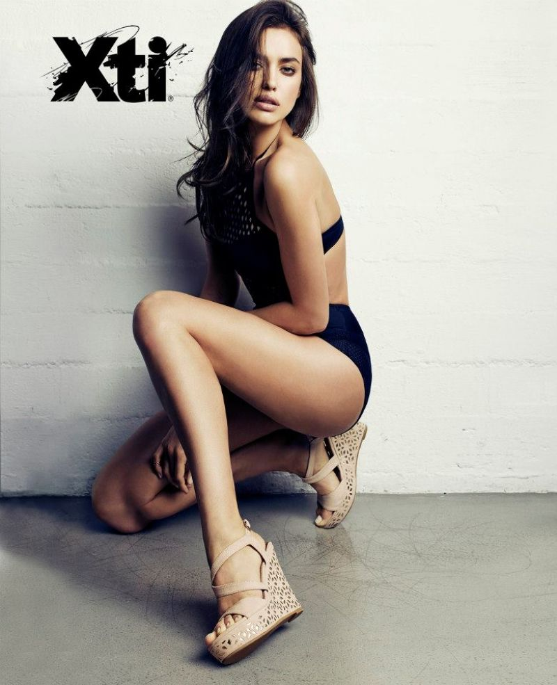 Irina Shayk Hot Photoshoot - XTI Spring/Summer 2014 Photoshoot