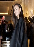 Irina Shayk - Roberto Cavalli Boutique Opening in Milan - February 2014