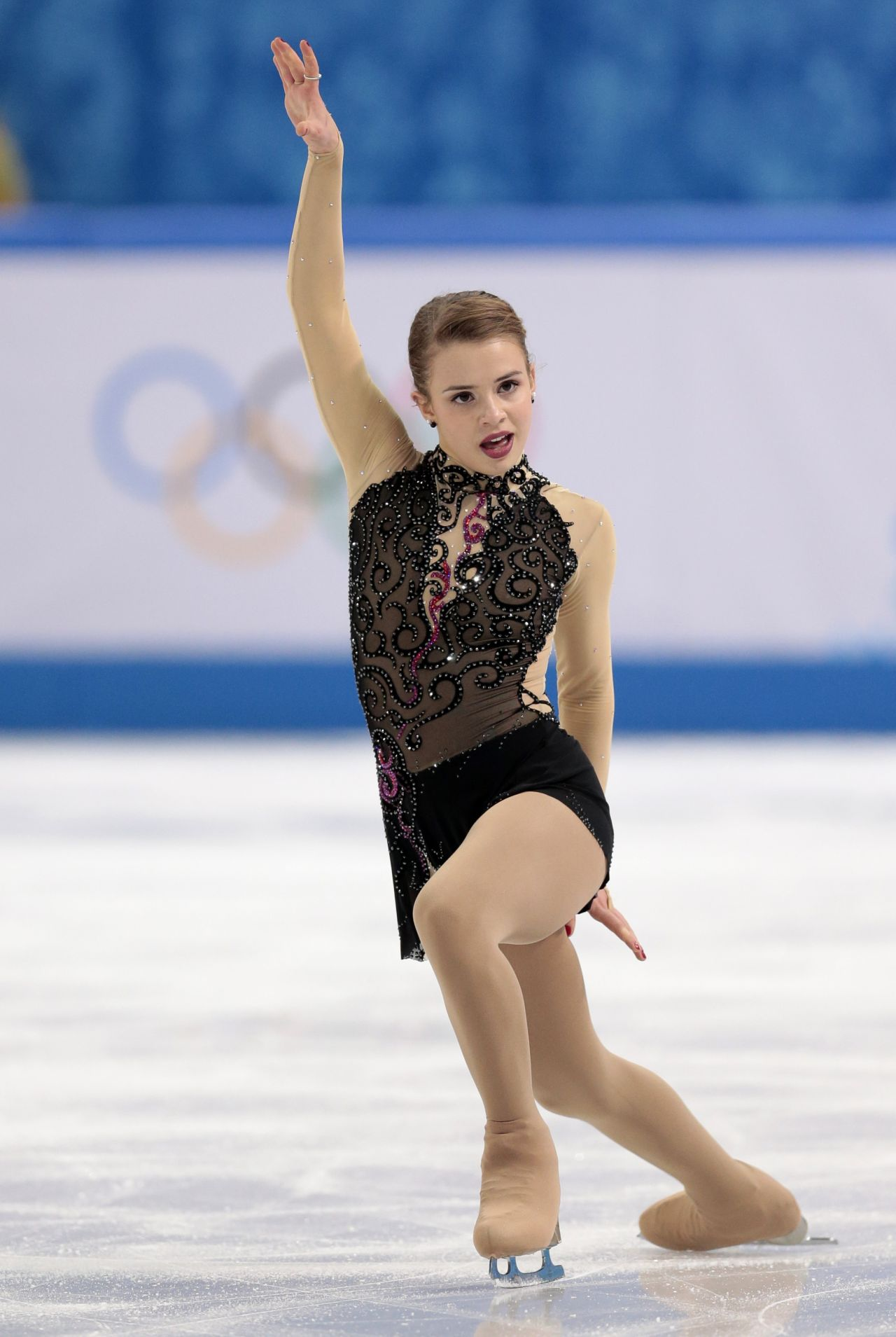Isadora Williams - Ladies Short Program – 2014 Sochi Winter Olympics