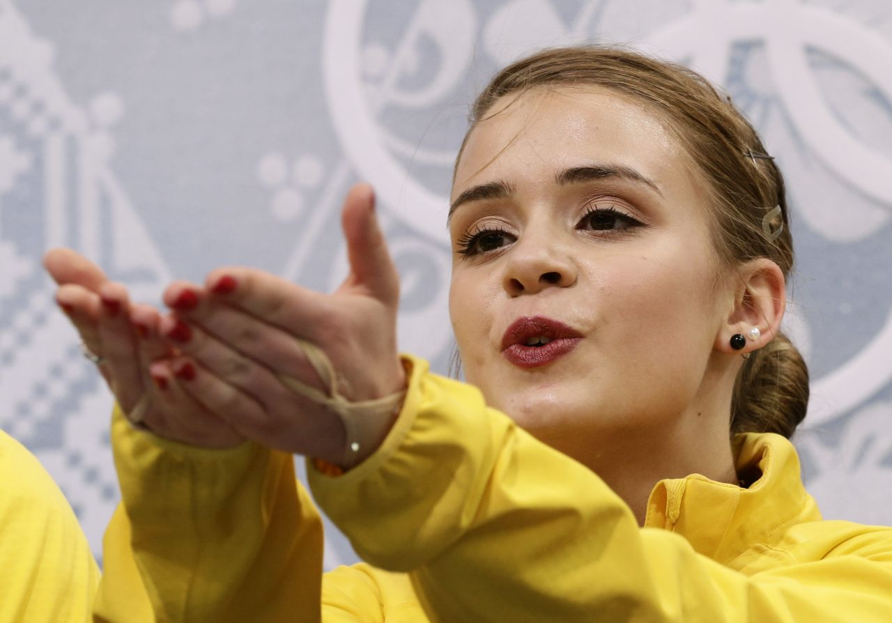 Isadora Williams Ladies Short Program 2014 Sochi
