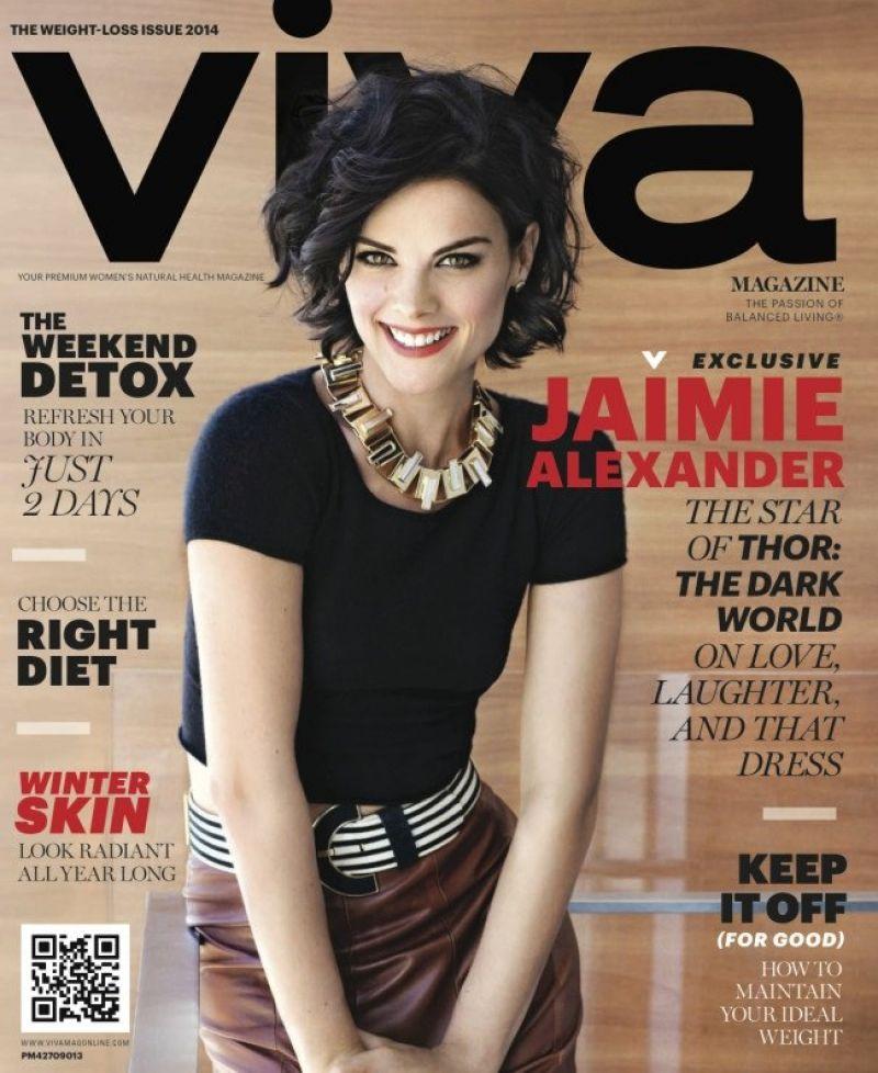 Jaimie Alexander - Viva Magazine 2014 Cover