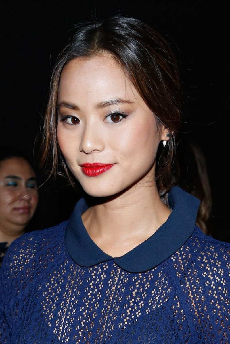 Jamie Chung - Charlotte Ronson Fashion Show in New York City (2014)
