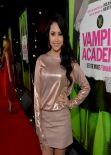 Jasmine Villegas at VAMPIRE ACADEMY Movie Premiere in Los Angeles (2014)