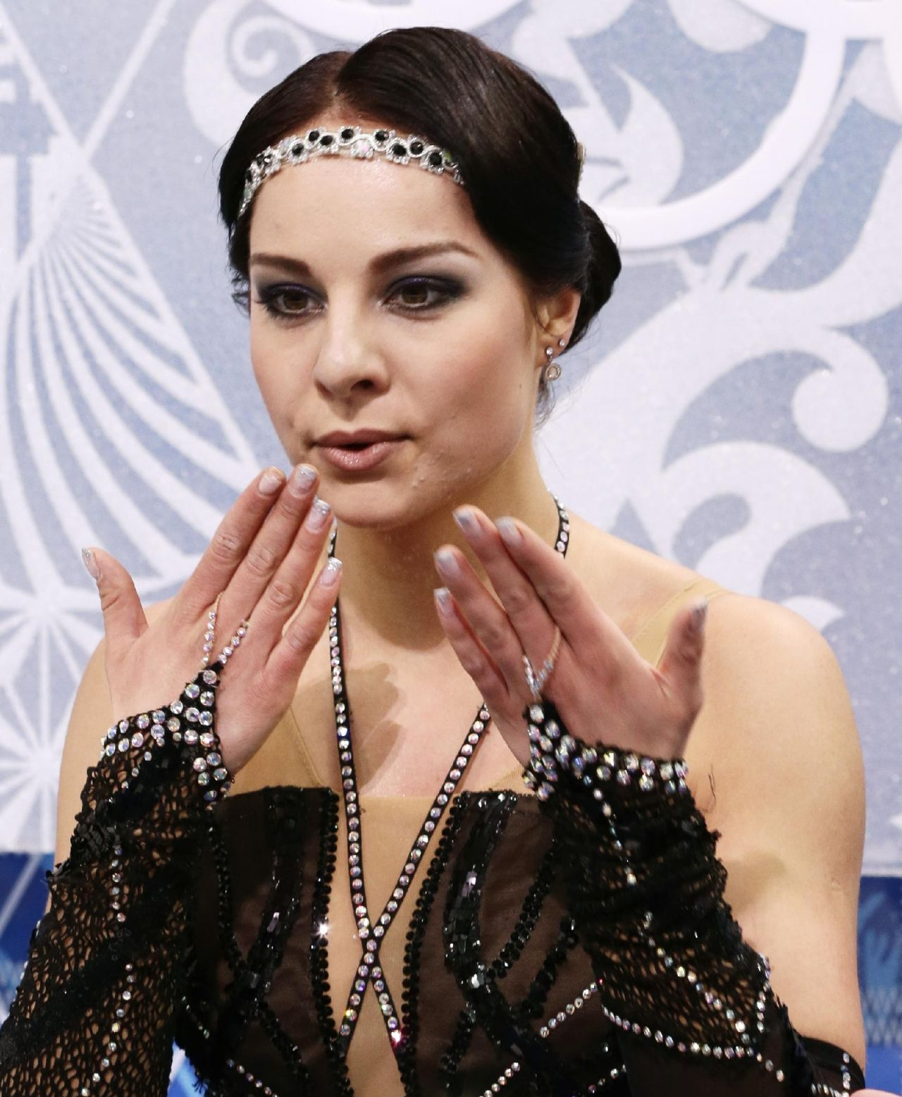 Jelena Glebova - 2014 Sochi Winter Olympics - Women's Figure Skating