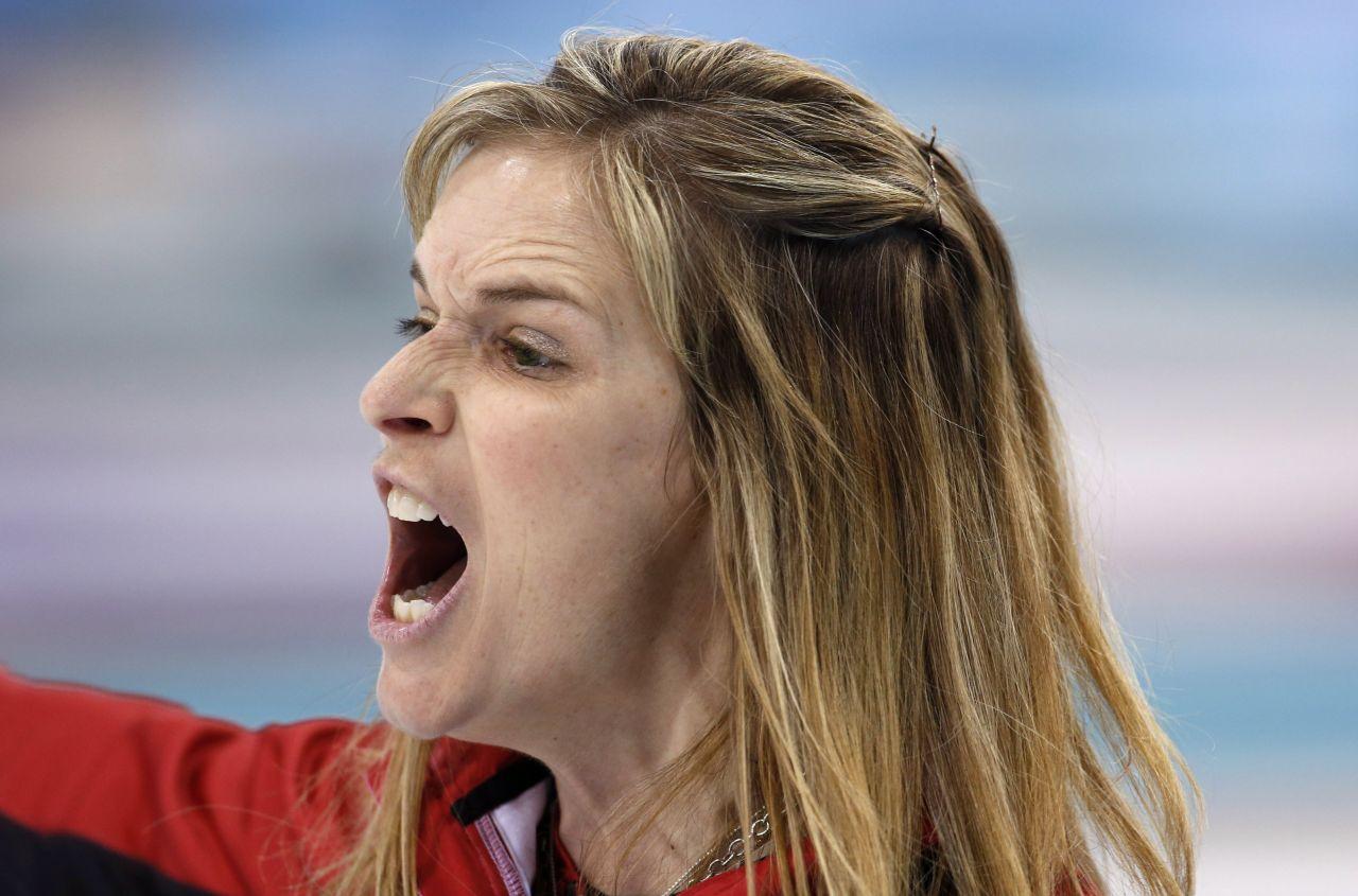 jennifer jones canadian curler at 2014 sochi winter olympics