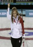 Jennifer Jones - Canadian Curler at 2014 Sochi Winter Olympics