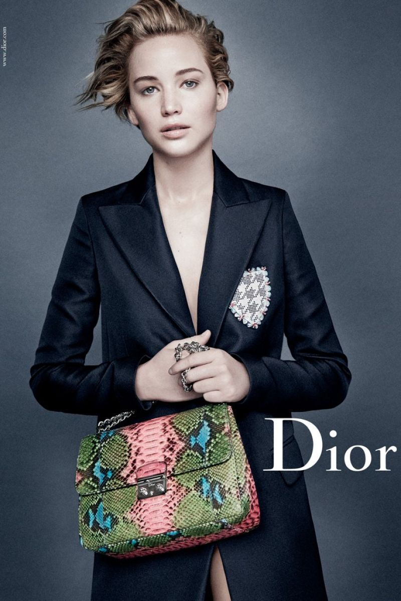 Jennifer Lawrence - Ad Campaign For Dior (2014)
